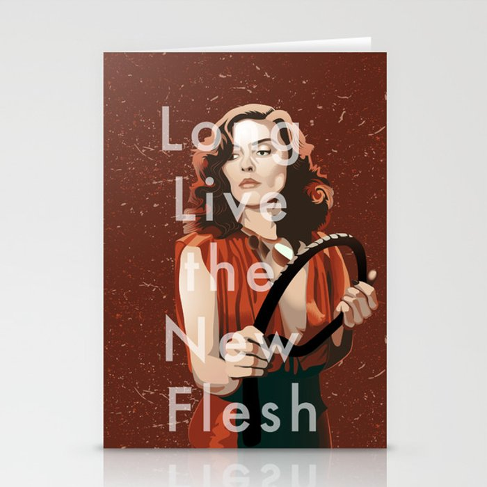 Long Live the New Flesh 1 Stationery Cards