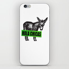 Hola Chicas iPhone Skin