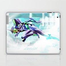 Evangelion Unit 01 - Shinji Ikari's Ride. The Digital Painting. Laptop & iPad Skin