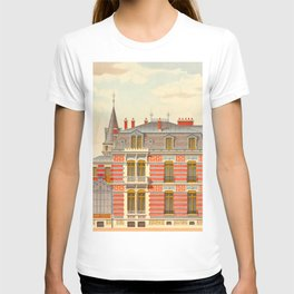 Brick constructions; ordinary brick from a decorative point of view - J. Lacroux and C. Détain - 187 T-shirt