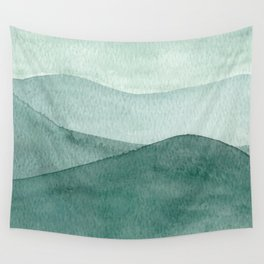 Green Mountain Range Wall Tapestry