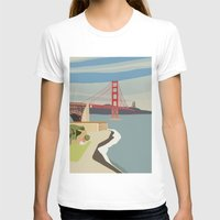 san francisco T-shirts featuring San Francisco by uzualsunday