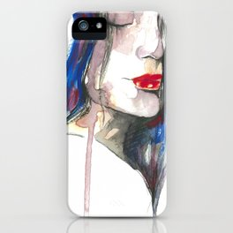 You made me forget ii iPhone Case