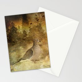 Mourning Dove 2 Stationery Cards