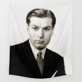 Laurence Olivier, Vintage Actor Wall Tapestry