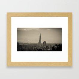 The Shard Framed Art Print