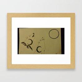A Lost Mate Framed Art Print