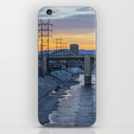 Sunset on 6th iPhone Skin