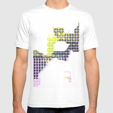 Map Mens Fitted Tee MEDIUM White