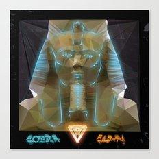 Pharao Ramses II. Canvas Print