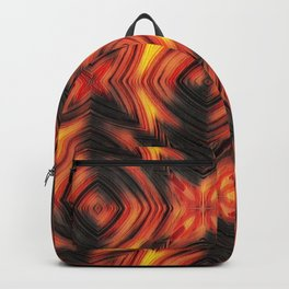 Fire, fire pattern Backpack