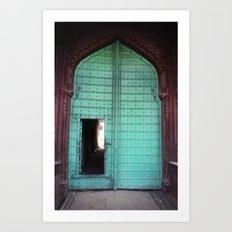 India Doors Art Print