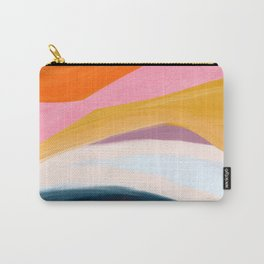 Let Go - no.36 Shapes and Layers Carry-All Pouch