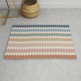 Maude Pattern- Vintage Multicolor Rug