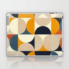 mid century abstract shapes fall winter 1 Laptop & iPad Skin