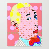 pee wee Canvas Prints featuring Pee Wee by Ricky Sencion