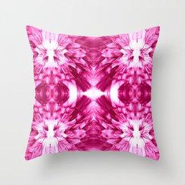 Dandelions Psycacerise Throw Pillow
