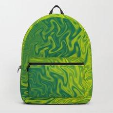 Ripples Fractal in Greens Backpack