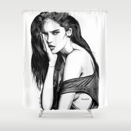 Juliana Herz Shower Curtain