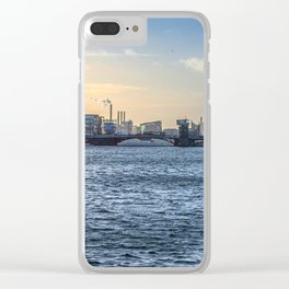 Waves, Copenhagen Clear iPhone Case