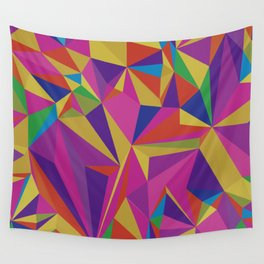 COLOUR MAZE 3 Wall Tapestry