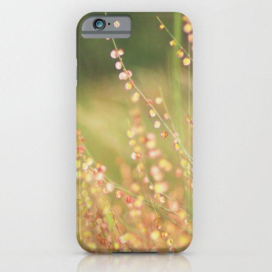 Wild flowers iPhone & iPod Case