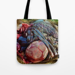 RoadKill Groundhog Dissection Tote Bag