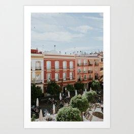 Charming Seville Art Print