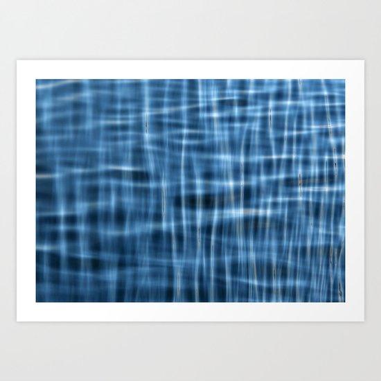 Water Pattern #1 Art Print