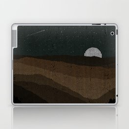 Moonrise (Sepia) Laptop & iPad Skin