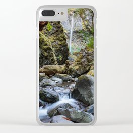 Elowah Falls Clear iPhone Case