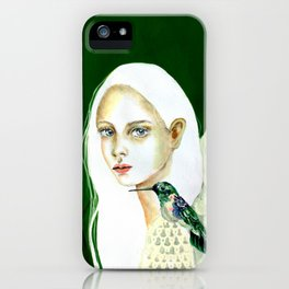 The message of the hummingbird iPhone Case