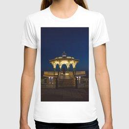 Brighton Bandstand at Night T-shirt