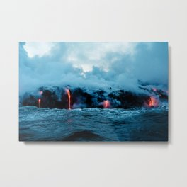 Rising New Earth Metal Print