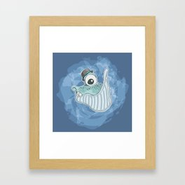 Will the Whale Framed Art Print