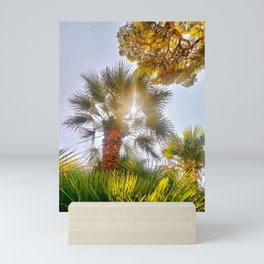 Golden Garden Mini Art Print
