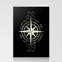 tolkien Stationery Cards featuring Not all those who wander are lost - J.R.R Tolkien by Augustinet
