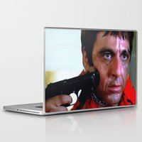 scarface Laptop & iPad Skins featuring Al Pacino @ Scarface #1 by Gabriel T Toro