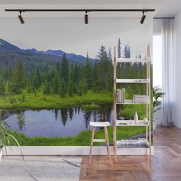 Colorado Forest Pond by Reay of Light Wall Mural