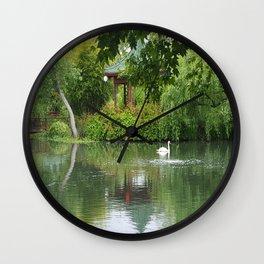 Escape to Serenity  Wall Clock