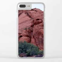 Snow Canyon - Ivins, Utah Clear iPhone Case