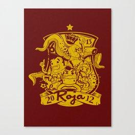 La Roja Canvas Print