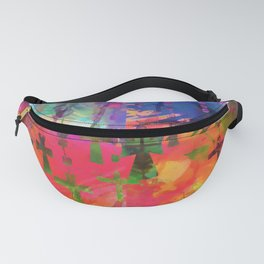 Crosses, Rosaries, Christian Signs, Christ, Spiritual, Religion, Catholic, Mother Mary, Scared Patte Fanny Pack