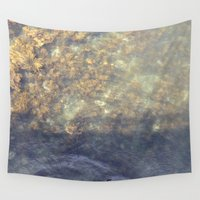 maine Wall Tapestries featuring Maine Water by Christina Hand