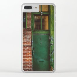 East Village II Clear iPhone Case