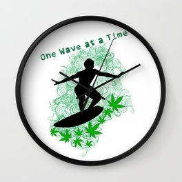 One Wave at a Time Wall Clock