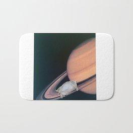 Turtle #2 (Sixth Planet Ring) [Cecilia Lee] Bath Mat