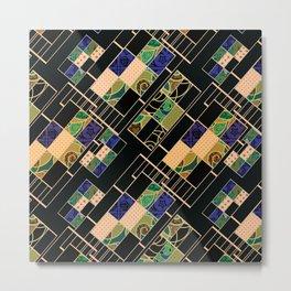 Creative patchwork. Metal Print