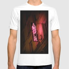 Oh l'amour White Mens Fitted Tee MEDIUM