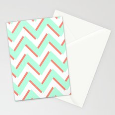 3D CHEVRON 2 Stationery Cards